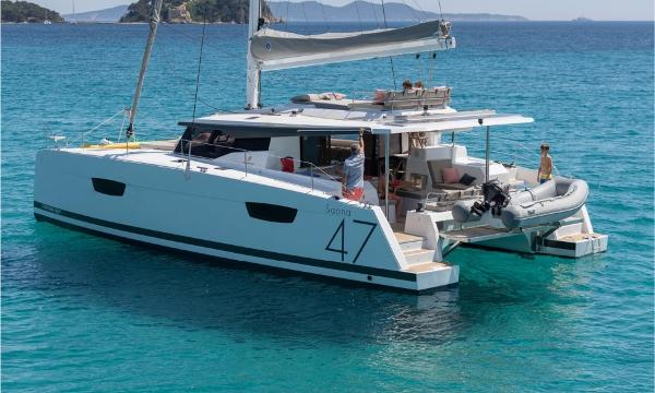 Fountaine Pajot Saona 47 Manufacturer Provided Image: Fountaine Pajot Saona 47