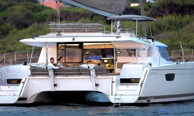 Manufacturer Provided Image: Fountaine Pajot SABA 50 Stern