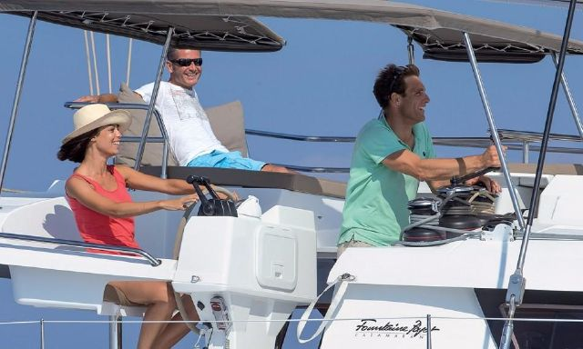 Manufacturer Provided Image: Fountaine Pajot SABA 50 Helm