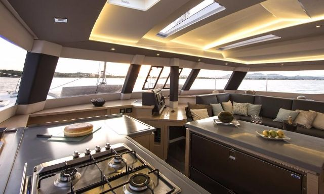 Manufacturer Provided Image: Fountaine Pajot SABA 50 Interior