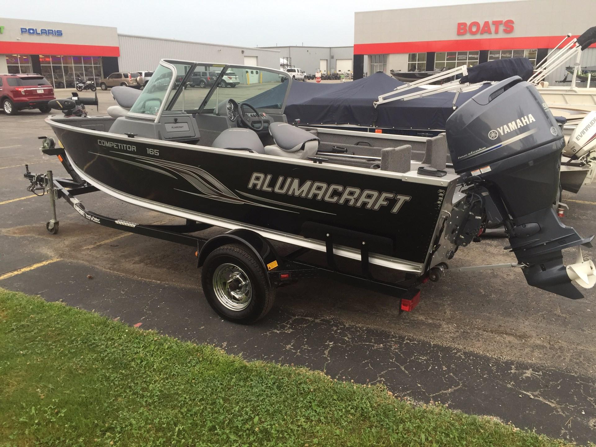 Used alumacraft boats for sale in wisconsin united states for Used fishing boats for sale in wisconsin