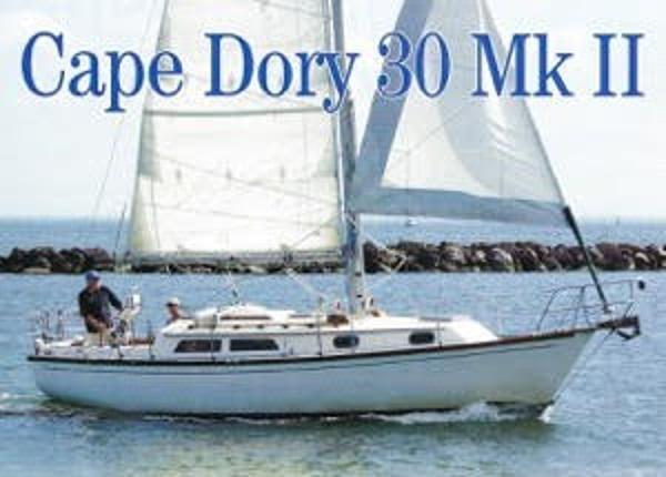 Cape Dory 30 MKII Underway