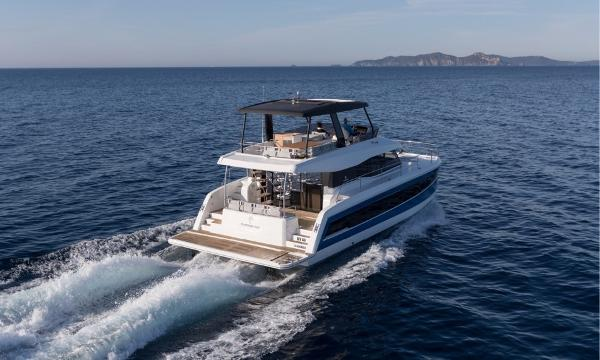 Fountaine Pajot Motor Yacht 44 Manufacturer Provided Image: Fountaine Pajot MY 44