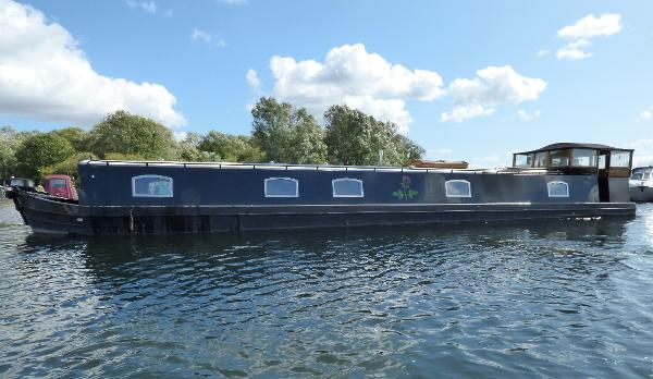 Wide Beam Narrowboat by Burscough Boats 70 x 12