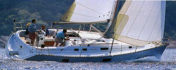 Beneteau Oceanis 351 Beneteau Oceanis 351 Sistership underway