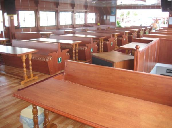 42 m Excursion vessel /Seating