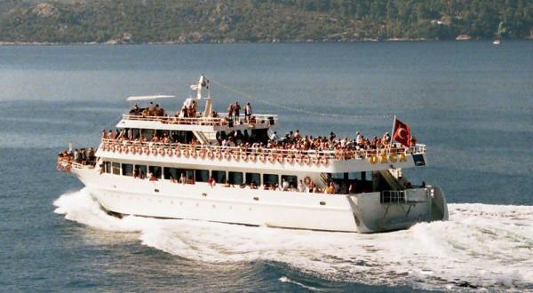 Black Sea Double Deck Excursion Vessel