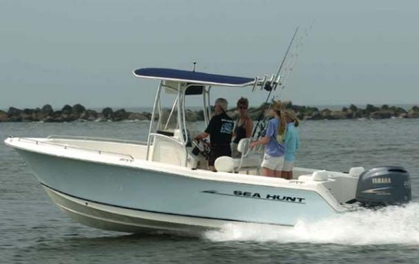 Sea Hunt Triton 220 w/ Trailer Manufacturer Provided Image