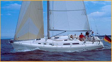 Hanse 371 Manufacturer Provided Image: HANSE 371