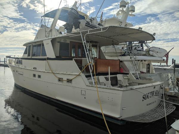 Hatteras CPMY Yacht Fisherman Main Profile