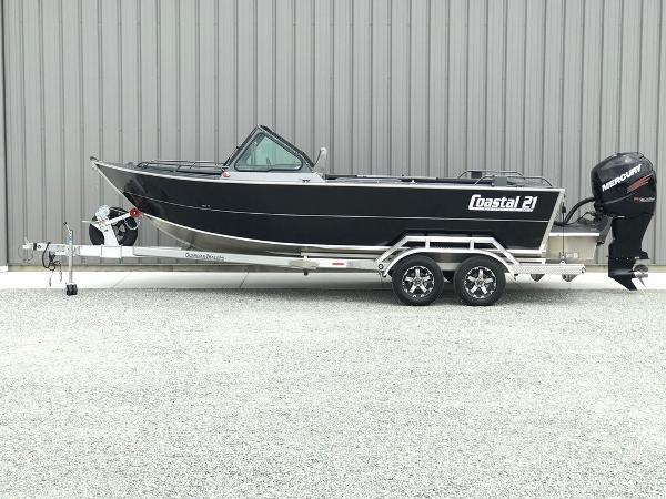 Rogue Jet Boats Coastal 21 - Outboard Model