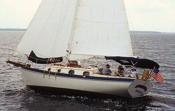 Pacific Seacraft Orion 27 Profile