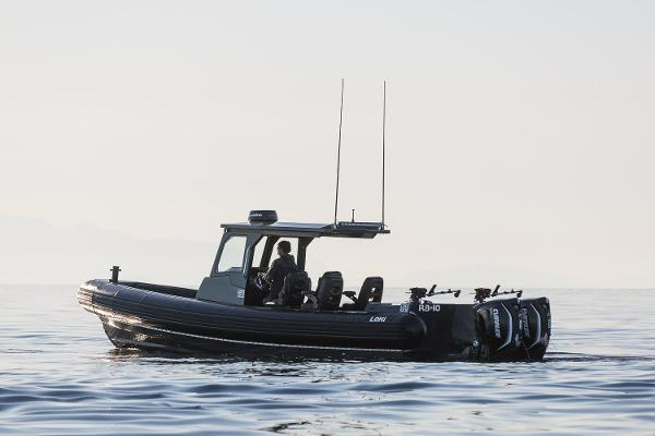 32' Loki RB-10 RIB RHIB Tender Adventure Boat