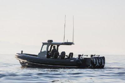 32' Loki RB-10 RIB RHIB Tender Adventure Boat