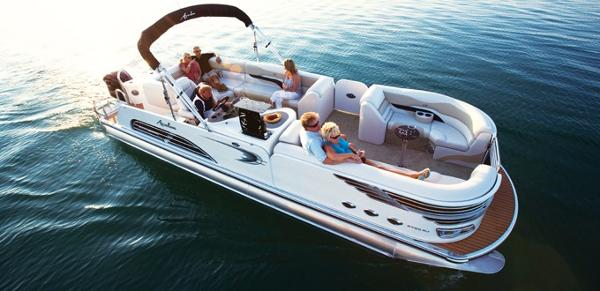 Avalon Ambassador Rear J Lounge - 27' Sistership
