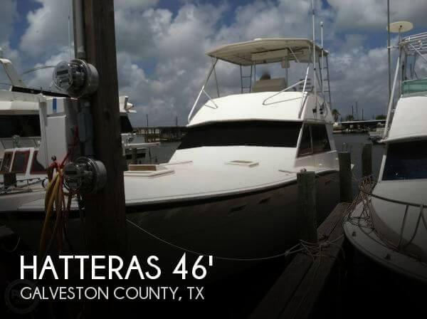 Hatteras 46 Convertible 1980 Hatteras 46 Convertible for sale in Galveston, TX
