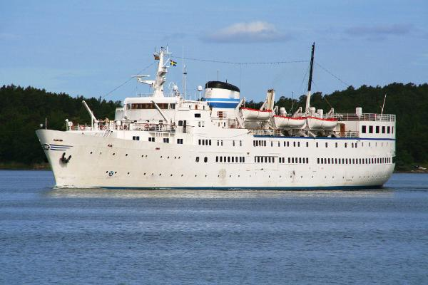 Classic Small Cruise Ship, 369 Passengers -Stock No. S2472