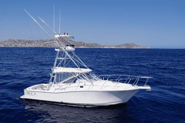 Cabo 31 Express 2001 Cabo Express Starboard Profile