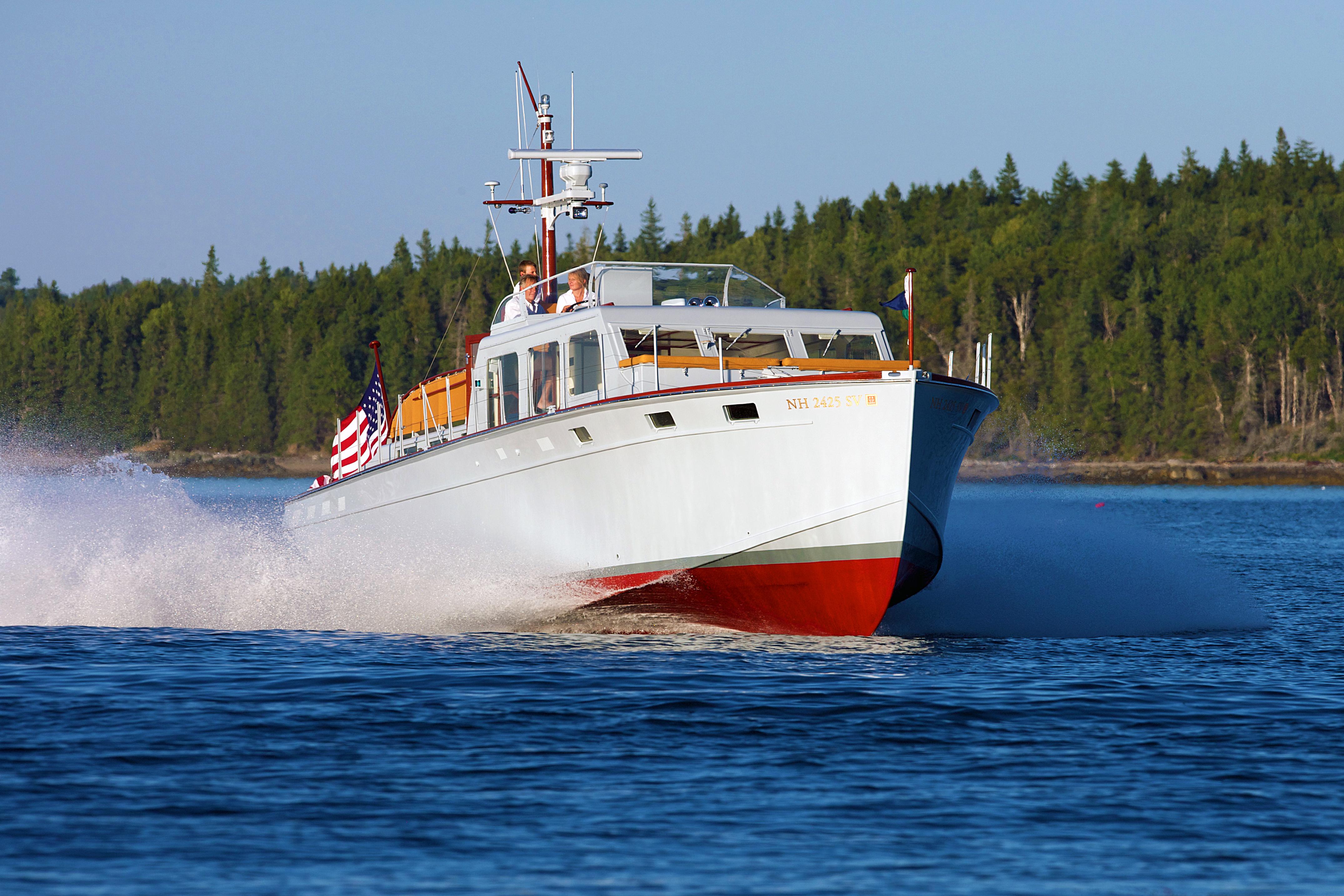 "Huckins Corinthian- Yachting Solution's ""Resto-Mod"""