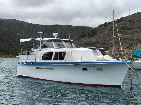 "Hatteras Double Cabin Motor Yacht ""Westway"" in Catalina"