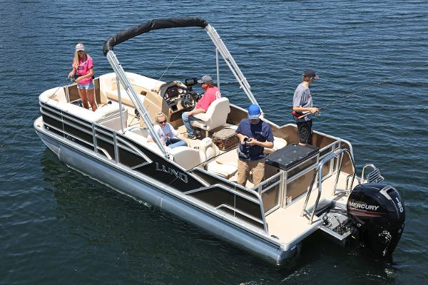 Lund ZX250 Pontoon FC Manufacturer Provided Image