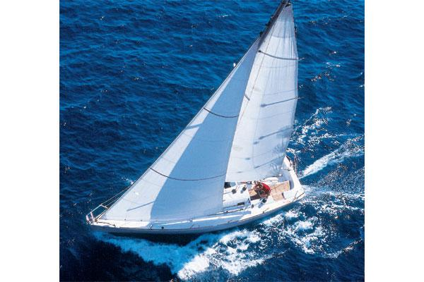 Manufacturer Provided Image: Sailing above view