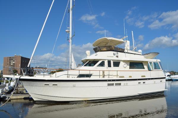 Hatteras 54 Motoryacht