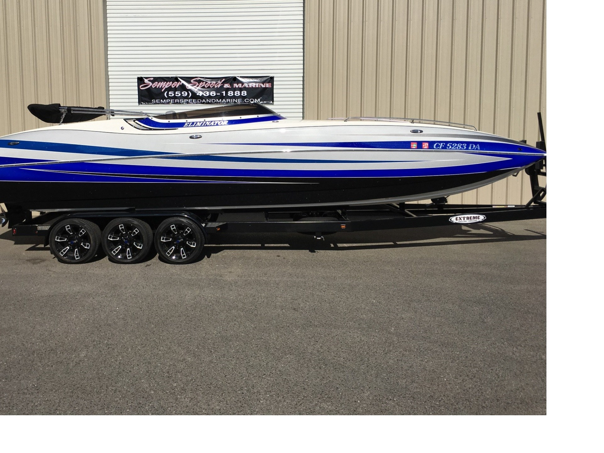 Eliminator Boats 28 FUNDECK