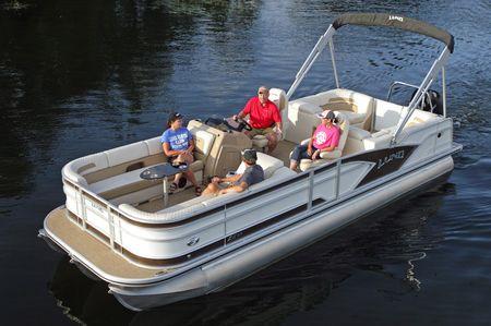 Lund ZX230 Pontoon WT DS - boats com