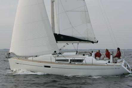 Jeanneau Sun Odyssey 36i Performance Manufacturer Provided Image: SO36i Performance