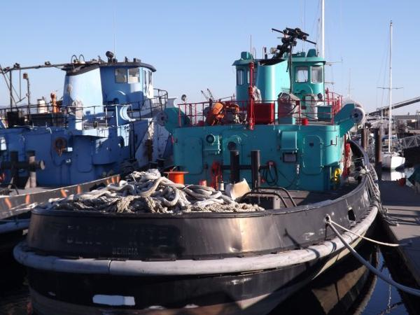 Ex Navy 2000hp Harbor Tug /Single Screw