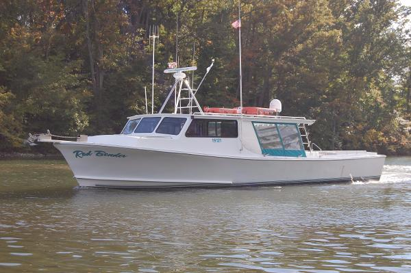Chesapeake Bay Deadrise Thomas Built 50' x 16' 50' Chesapeake Bay Deadrise, Carries a USCG Inspection for Bay and Ocean