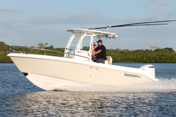 Everglades 230 Center Console Manufacturer Provided Image