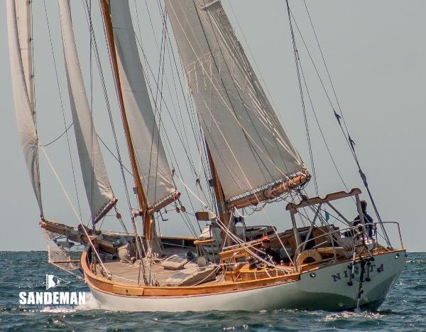 Custom Starling Burgess Staysail Schooner