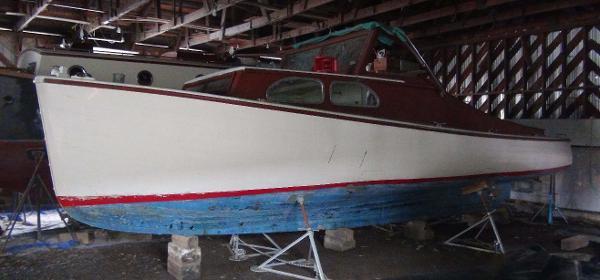 Lunenburg Yard Lobster Boat