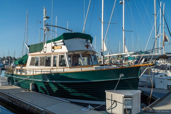 """Grand Banks Classic 42' Grand Banks Classic """"ABOUT TIME"""""""
