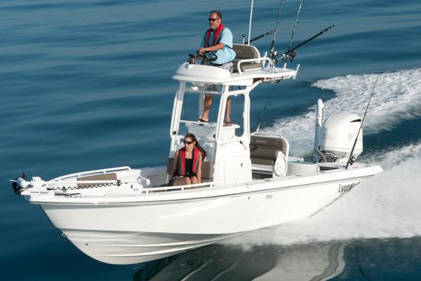 Everglades Boats 243 Cc Manufacturer Provided Image