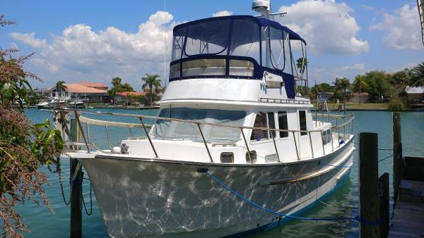 Monk 36' Double Cabin Trawler