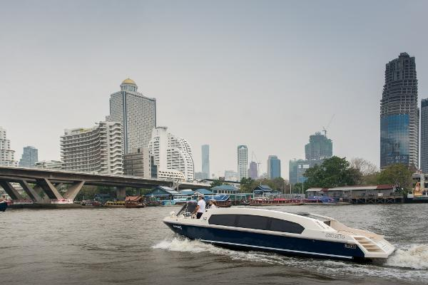 Custom Limo Taxi Boat