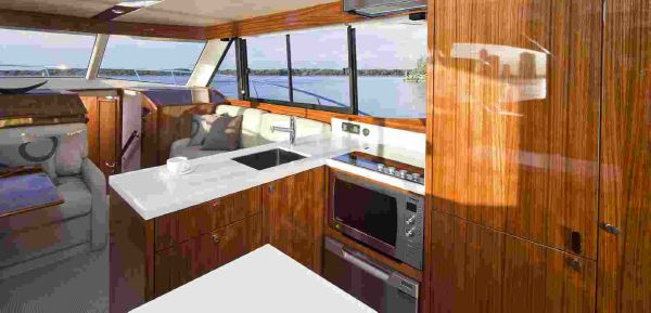Maritimo M48 Galley