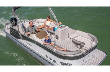 Avalon Catalina 2585 Rear J Lounger Triple Pontoon