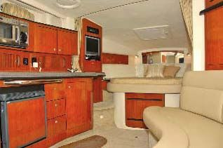 Cabin Aft forward