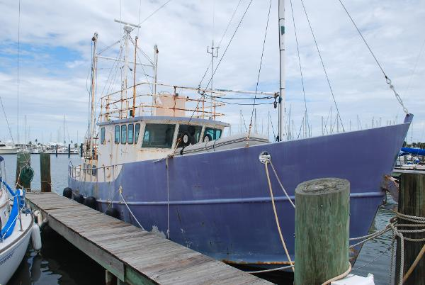 Colvin Tom Colvin Designed - Fazzio Built - North Sea Trawler