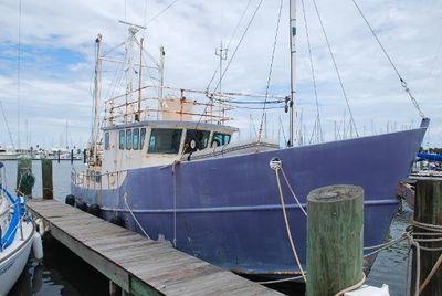 Colvin Tom Colvin Designed - Fazzio Built - North Sea Trawler