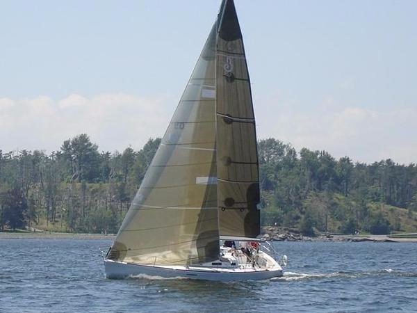 Beneteau First 36.7 Under Sail