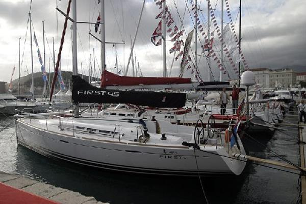 Beneteau First 45 Manufacturer Provided Image: Moored