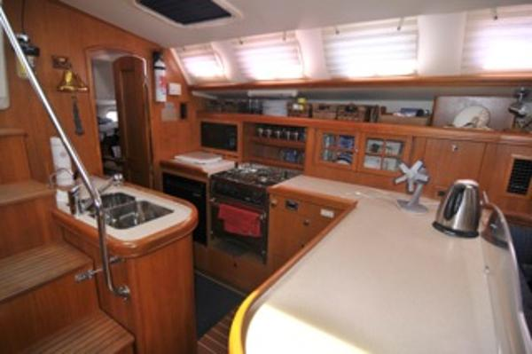 Galley looking port