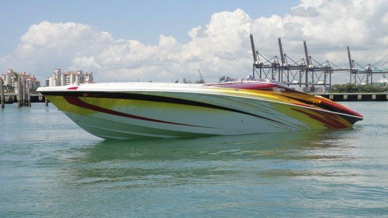Hustler 50 Performance Yacht