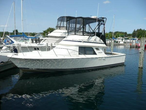 Blackfin 29 Flybridge Port profile