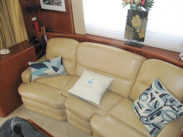 Custom Port Reclining Couch